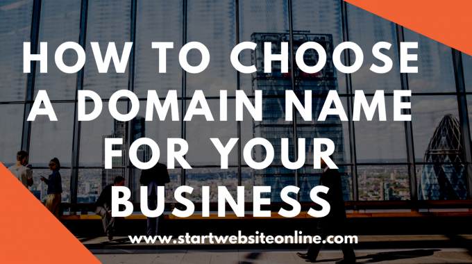 How to Choose a Domain Name for Your Business